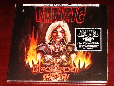 Danzig: Black Laden Crown CD 2017 Evilive Nuclear Blast USA NB 3654-0 Sleeve NEW