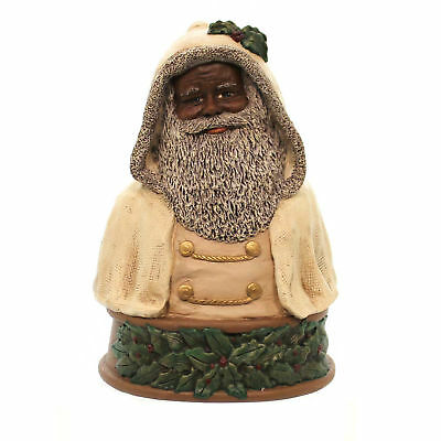 All Gods Children FATHER CHRISTMAS BUST BLACK African American Santa 1776
