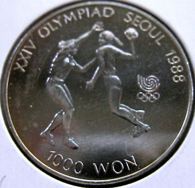 Coin Korea 1000Won 1988 Bu T5