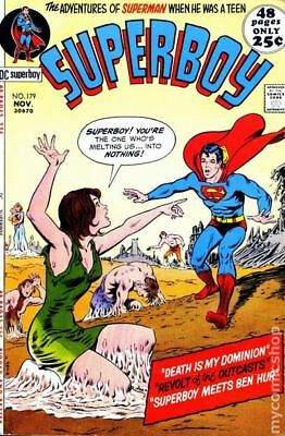 Superboy (1st Series DC) #179 1971 FN Stock Image
