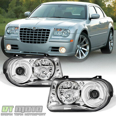 [Factory Style] 2005 2006 2007 2008 2009 2010 Chrysler 300C Headlights Headlamps