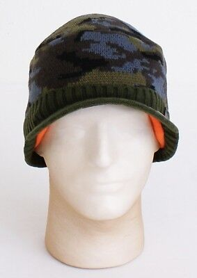 Adidas ClimaWarm M Hayes Military Camo Knit Visor Beanie Men s One Size NWT 5aac71b7403d