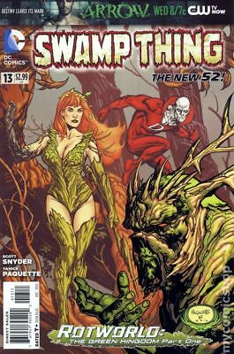 Swamp Thing (5th Series) #13 2012 VF Stock Image