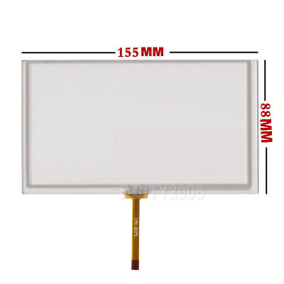 "6.2"" 4Wire Resistive Touch Panel 155x88mm For CLAA062LA01CW LCD Ship From USA"
