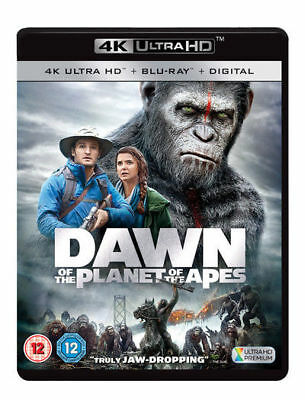 Planet Of The Apes - Dawn Of Planet Of The Apes 4K Ultra HD NEW UHD (5738406000)
