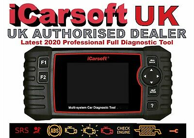 Icarsoft BCC II CHRYSLER JEEP GM Diagnostic Tool ECU Airbag SRS Service OBD2 uk