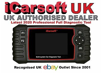iCarsoft PRO OBD2 MULTI SYSTEM SCAN Tool Chrysler Jeep GM Chevrolet Cadillac UK