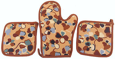 Missoni Home Mati 148 Guanto Forno + Presine Quilted Oven Mitt + Pot Holders