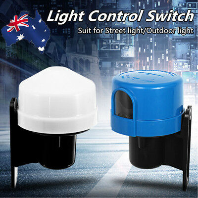 220V Dusk to Dawn Sensor Photocell Light Control Switch For Outdoor Street Lamp