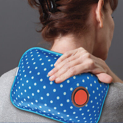NEW Rechargeable Hot Water Bottle - Great Aid For Muscle Pain - Heats In Minutes