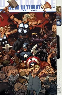 Ultimate New Ultimates (Marvel) 1A 2010 FN Stock Image