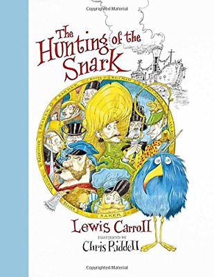 The Hunting of the Snark, Very Good Condition Book, Riddell, Chris, ISBN 9781509