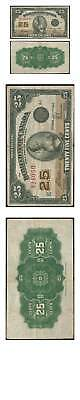 Canada Fractional Banknote 25 Cents 1923  Pick 10 Very Fine