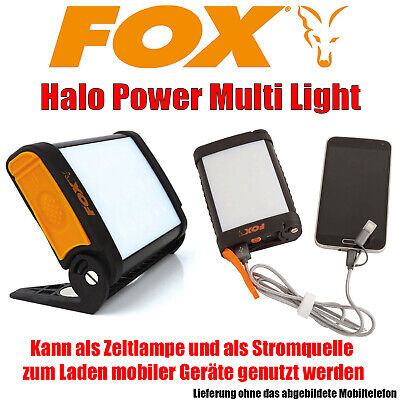 Fox Halo Power Multi Light Zelt Bivvy Lampe Stromquelle - CEI168 [A27] NEU
