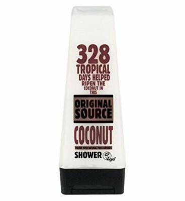 Cussons 94673 Original Source Natural Moisturizing Coconut Shower Gel, 250ml