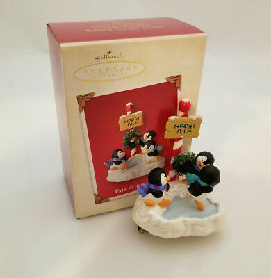 Hallmark Keepsake Ornament 2003 Pals at the Pole - Penguins at Play - #QXG8827