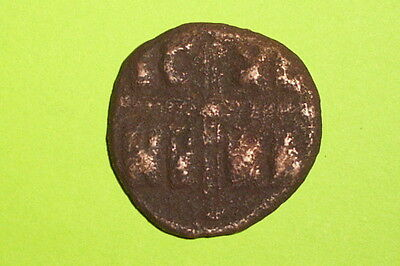 HUGE Ancient BYZANTINE COIN of MICHAEL IV & ZOE JESUS CHRIST old christian bible
