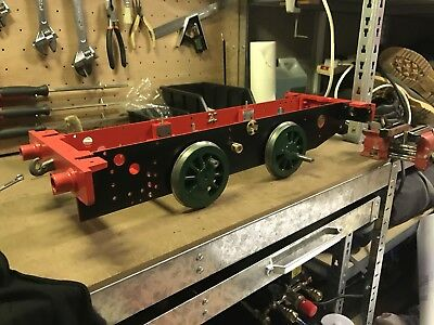 5 INCH GAUGE Polly 1 Live Steam Locomotive Kit Project (Kits 1 to 3)