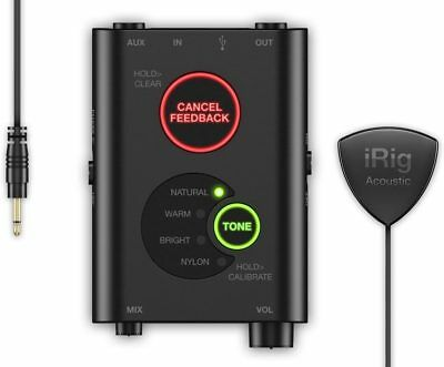 IK Multimedia iRig Acoustic Stage Digital Microphone System for Acoustic Guitar