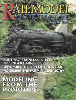 Railmodel Journal May 2006 Farming Industry Stainless Steel Passenger EMD GP50