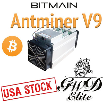 NEW Bitmain Antminer V9 w PSU NEW SEALED *Ships Fast with FedEx*