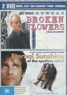 Broken Flowers & Eternal Sunshine Of The Spotless Mind - Double Feature Dvd