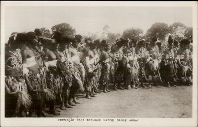 Ethnography Dance - Cape Verde? Batuque Native Dance Real Photo Postcard