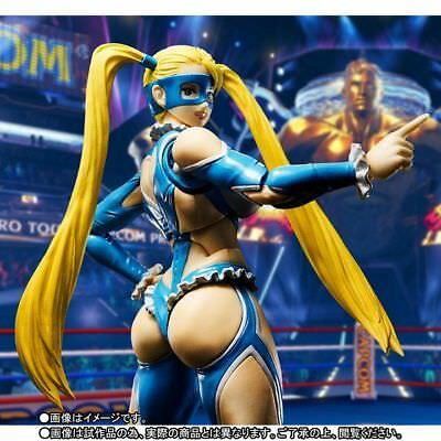 S.H. Figuarts Street Fighter Rainbow Mika figure Bandai Tamashii web exclusive