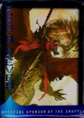 Max Protection Card Protection Neo Sleeves - Crimson Rider (50) MINT