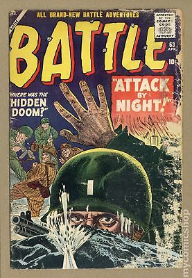 Battle (Atlas) #63 1959 FR/GD 1.5