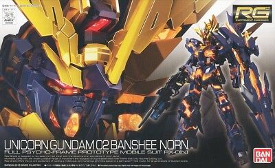RG Real Grade #27 RX-0 [N] Unicorn Gundam 02 Banshee Norn 1/144 model kit Bandai
