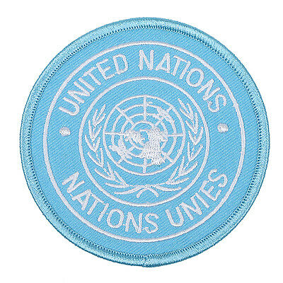 United Nations Nations Unies Badge Patch Embroidery-33928