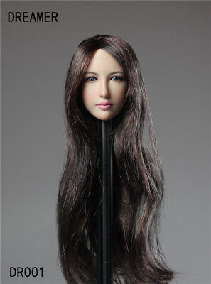 "DREAMER Asian Female ""Zhu Xian"" Long Hair Beauty Head 1/6 Fit KUMIK PHICEN Body"