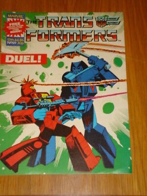 Transformers British Weekly #69 Marvel Uk Comic 1986