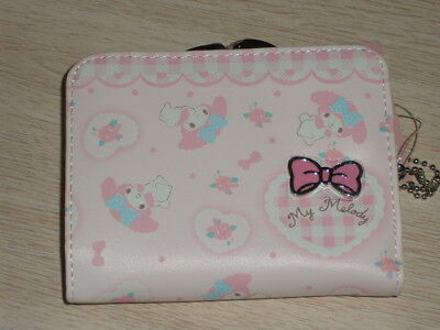 My Melody Kiss-clasp wallet purse #07