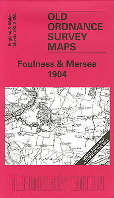 Old Ordnance Survey Map Foulness & Mersea 1904