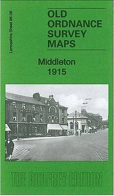 Old Ordnance Survey Map Middleton 1915
