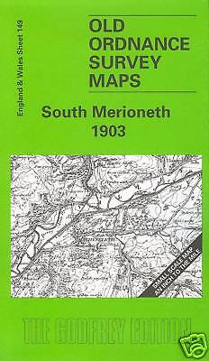 Old Ordnance Survey Map South Merioneth 1903