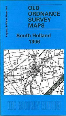 Old Ordnance Survey Map South Holland 1906