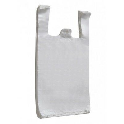 Sapphire S2 White Ht Vest Carrier Bags Pack - 100 Shop New Official Product