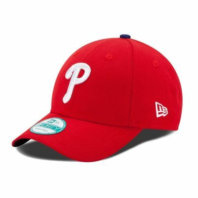 New Era 9FORTY MLB Philadelphia Phillies The League Curved Peak Strapback Cap