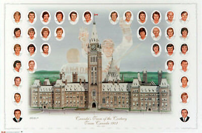 Team Canada 1972 Canada-Russia Summit Series TEAM OF THE CENTURY Official POSTER