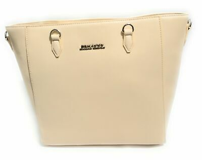 Borsa Donna Ermanno Scervino Vertical Shopper New Anya Solid Crema Bs18Es49