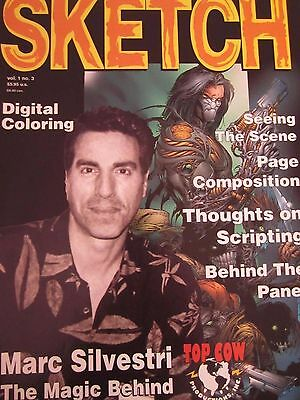 Sketch 3-Comic Art Magazine-Marc Silvestri-Comics-Top Cow-Darkness