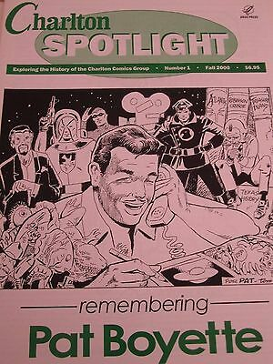 Charlton Spotlight 1-Comic Art Magazine-Charlton Comics-Pat Boyette