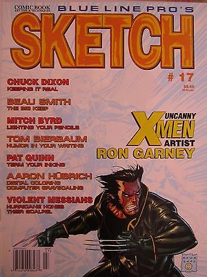 Sketch 17-Comic Art Magazine-Ron Garney-Chuck Dixon-Comics-Uncanny X-Men