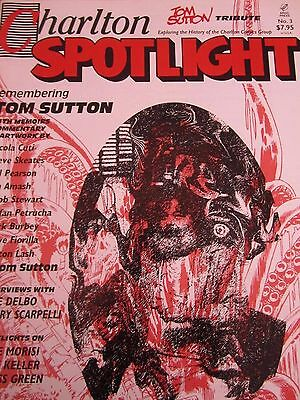 Charlton Spotlight 3-Comic Art Magazine-Charlton Comics-Ghostly Tales-Tom Sutton