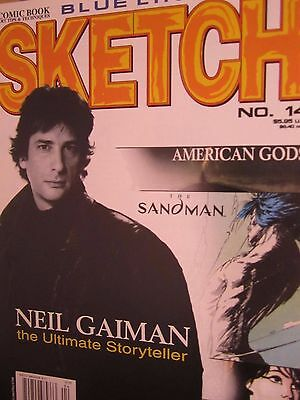 Sketch 14-Comic Art Magazine-Neil Gaiman-Chuck Dixon-Comics-Sandman