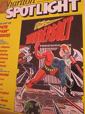Charlton Spotlight 4-Comic Art Magazine-Charlton Comics-Thunderbolt-Pete Moris