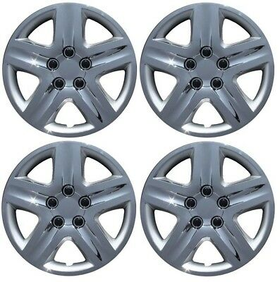 """New 2010 2011 2012 FORD FUSION 17"""" Chrome Hubcap Wheelcover SET of 4"""